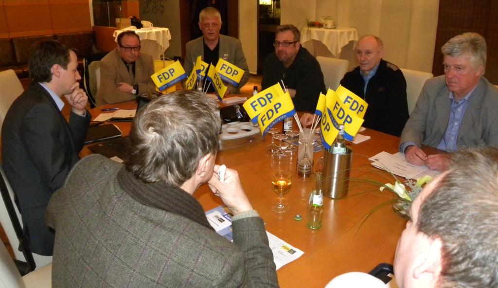Ortparteitag FDP Witten